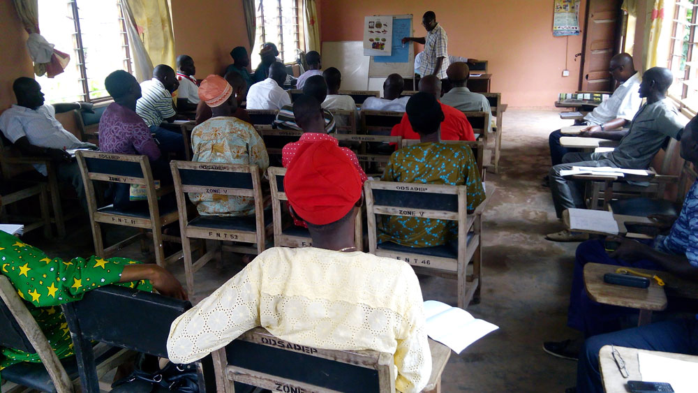 Aquaculture Post-harvest Training of Trainers in Okitipupa, Ondo State, Nigeria