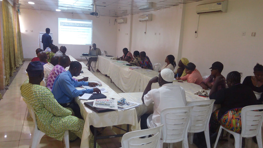 Training on Weather and Climate in Agriculture in Akure, Ondo State, Nigeria